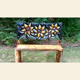 Flowers Bench