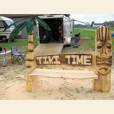 Tiki Time Bench